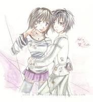 Uke and Seme -Yuri- by Hellmaster05