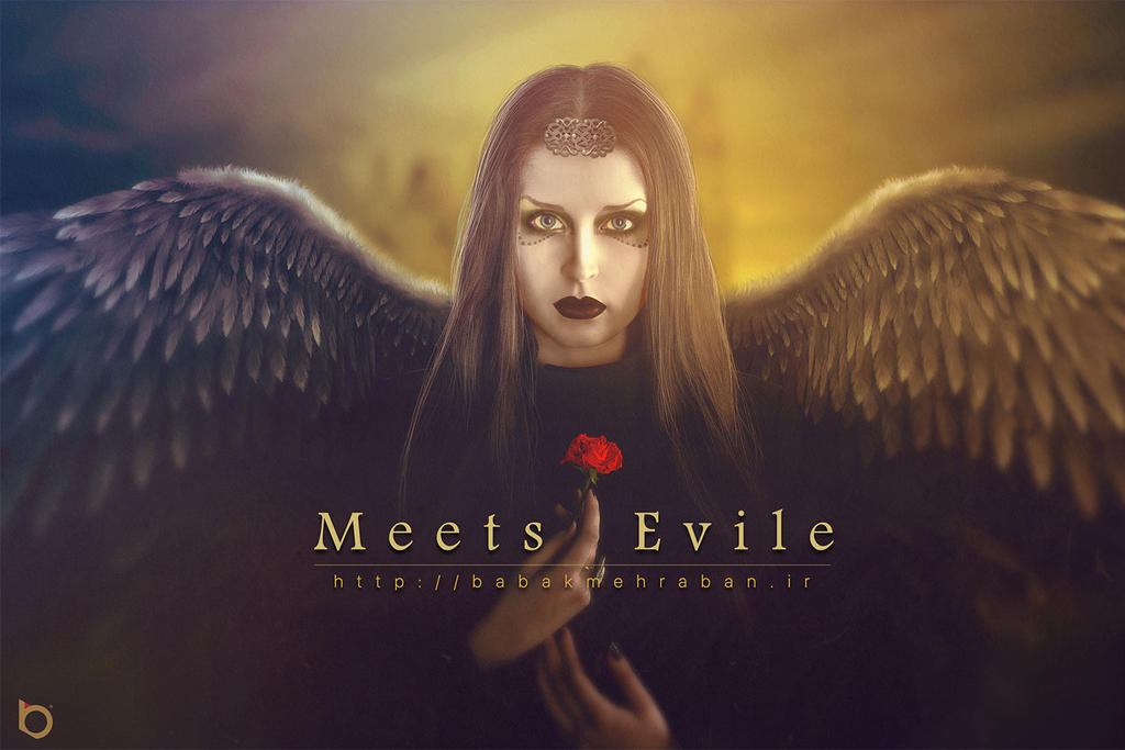Meets-Evil by Babak-Mehraban