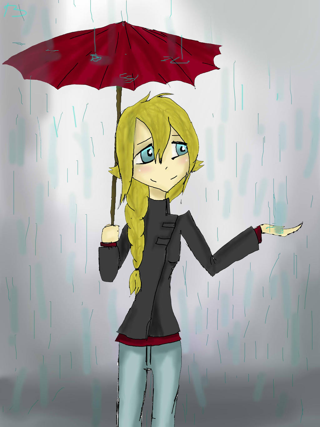 i love rain by Maksimka-6