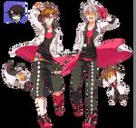 NND: Mafumafu and Amatsuki Render