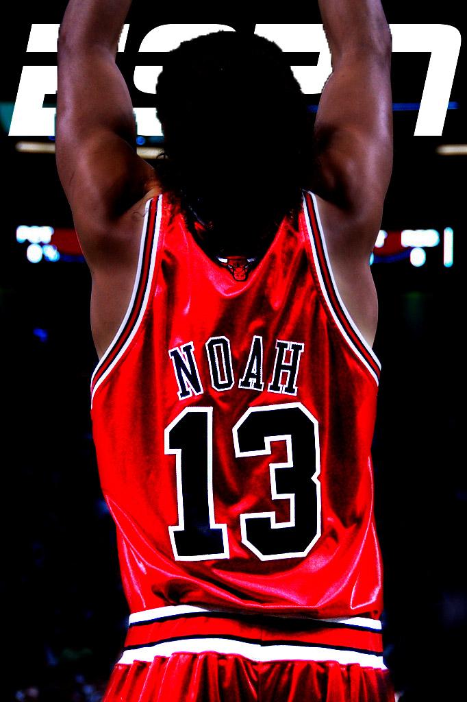 Joakim Noah ESPN by TunedUpGraphics
