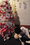 Christmas love by lipslock