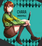 [Undertale]Chara by amsin-indigoswallow