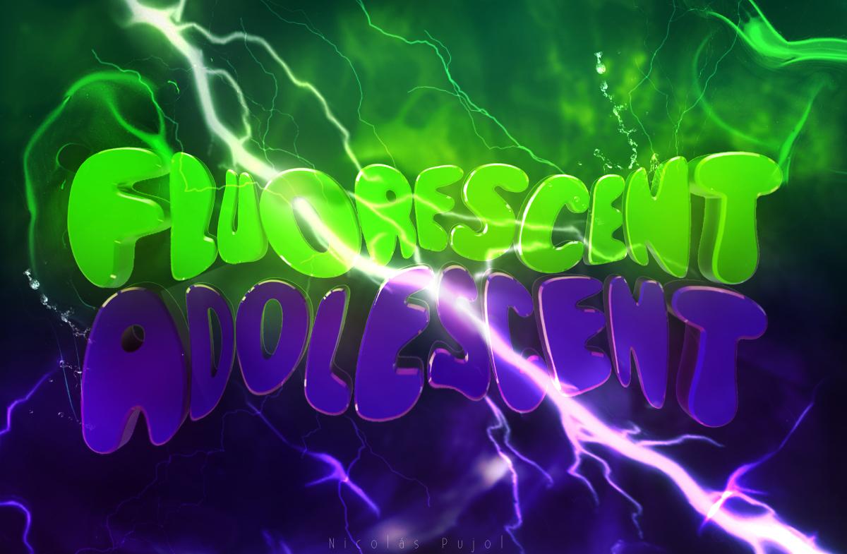 fluorescent adolescent by holavengoaflotar