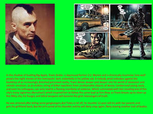 GAG-Verse fact 14: Travis Bickle, The Taxi Driver.