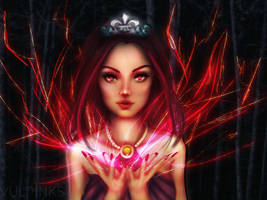 Queen Margo - The Destroyer by vulpinks