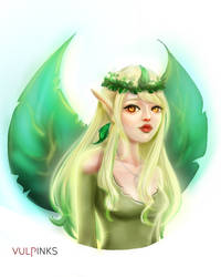 Leafeon by vulpinks