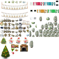 Winter Tileset for VX by SD-Arius