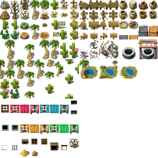 Desert S Tileset By Sd Arius On Deviantart