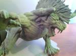 Final Fantasy XV Behemoth sculpture (Deadeye)