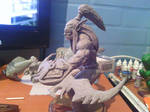 Illidan Stormrage sculpture