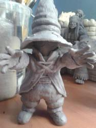 Vivi Sculpture FF9 - Figura Vivi FF9 (WIP)
