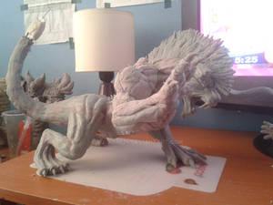 Deadeye behemoth Final Fantasy XV (WIP)