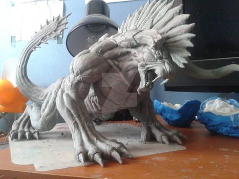 FinalFantasy XV Deadeye Behemoth Sculpture/Figure