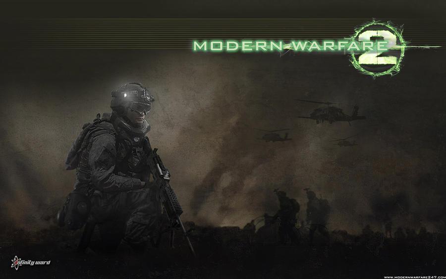Modern Warfare 2: Army Ranger by sebassP4