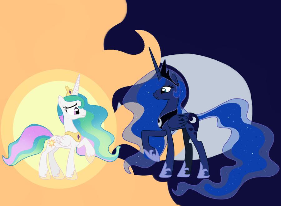 The 2 Princesses by Spark-Dragon