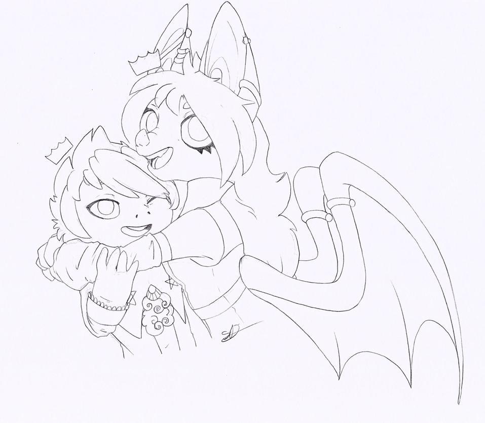 G. Cutest couple. by Spark-Dragon