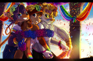 Pride Month by Spark-Dragon