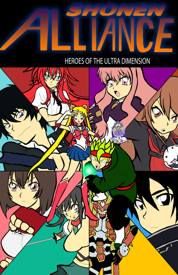 Heroes of the Ultra Dimension by ssvineman