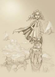 sky girl by haipeter