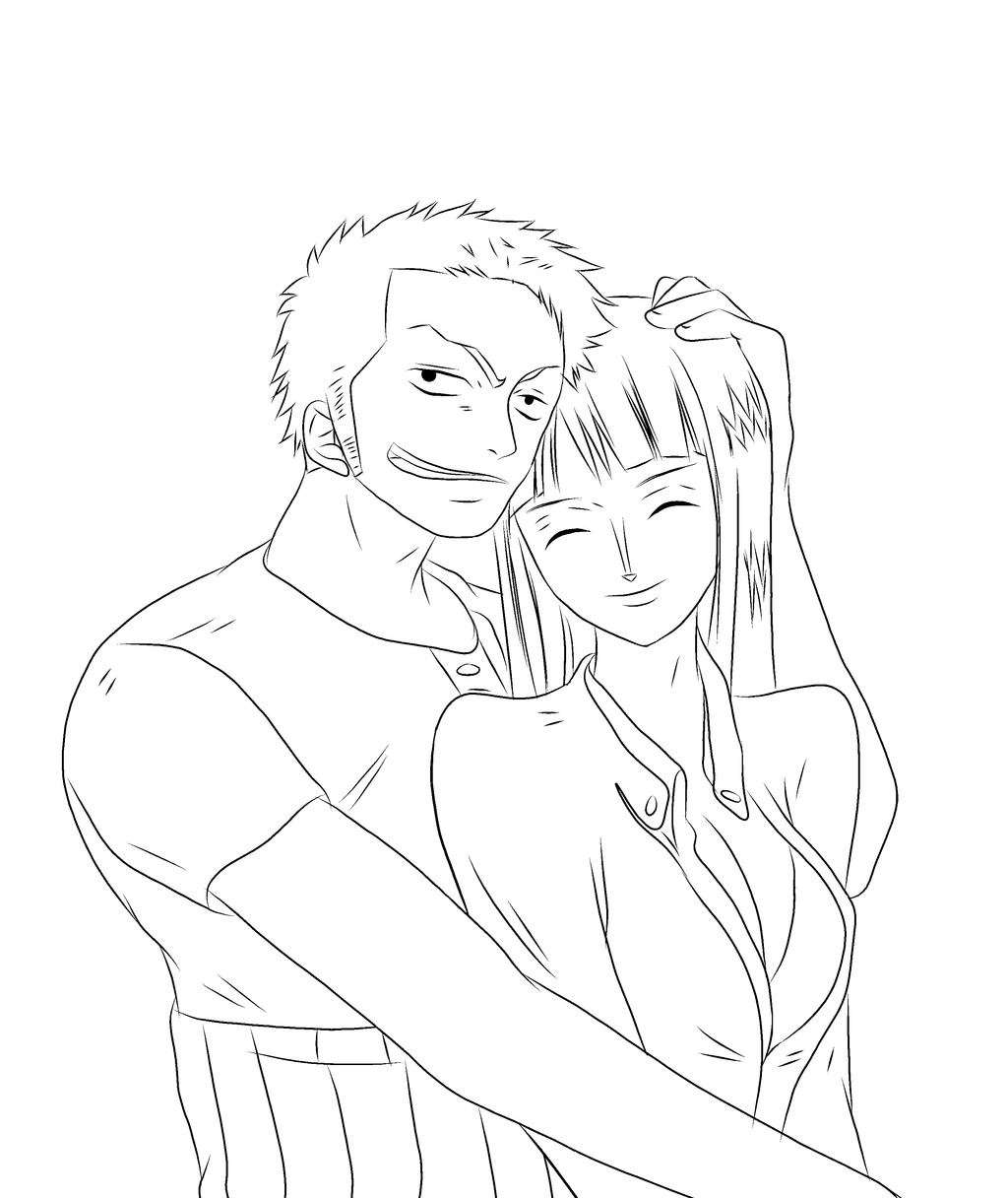 One piece zoro and nico robin by homunculuslust on deviantart - Coloriage gratuit manga one piece ...