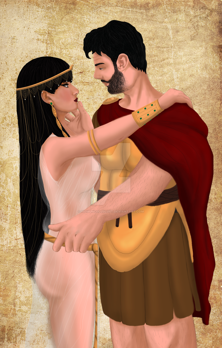 Antony and Cleopatra by HomunculusLust