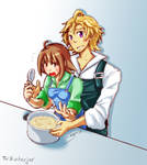 Harvest Moon- Akari and Chase