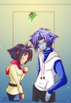 Slayers -Xmas Amelia and Zel