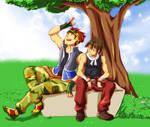 Harvest Moon - Owen and Kurt
