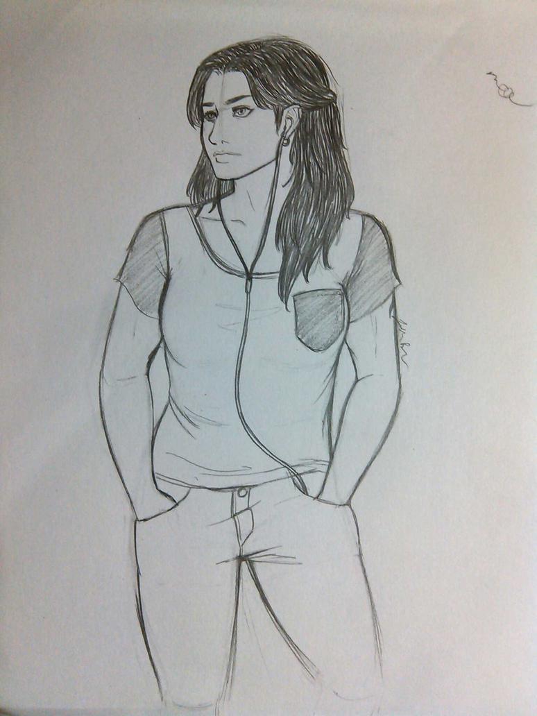 Saoirse sketch by InvaderTarren13