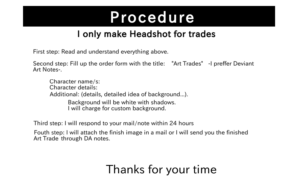 Procedure by SaiwoProject