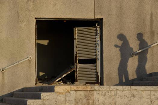 Follow the black shadow