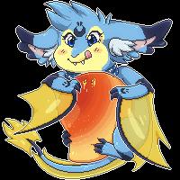 [Commission] Yummy giant floating mango by Feligriffin