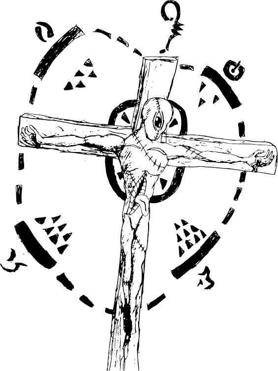 Eldritch Crucifixion by Jermiahhansen