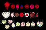 Mystery Valentines Gems (OPEN)