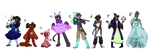 Epic Minecraft Colab Adopts (ONE LEFT) by MoonTea99