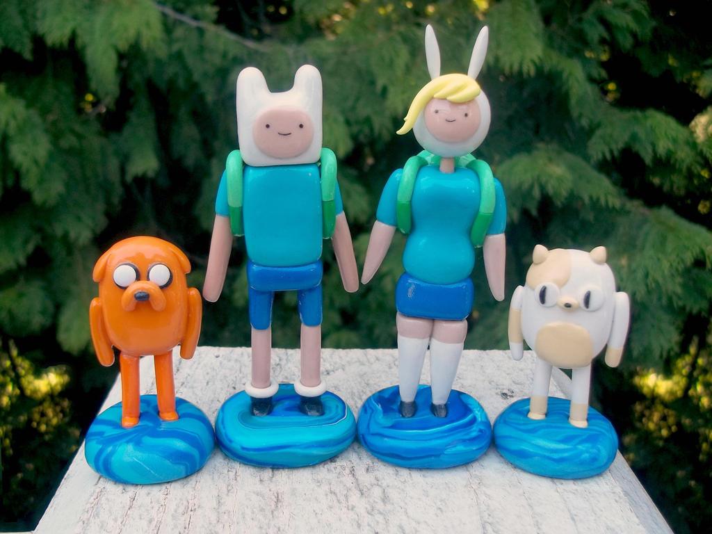 Handmade Adventure Time Figures by ImSodaHyper