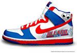 Bleach Nikes by Maximus5432