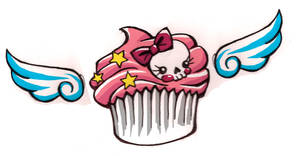 Tattoo Idea - Muffin Cupcake by poortommy