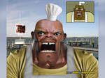TDI Untooned Real Chef Hatchet