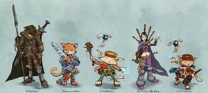 Cinnacat and Friends!