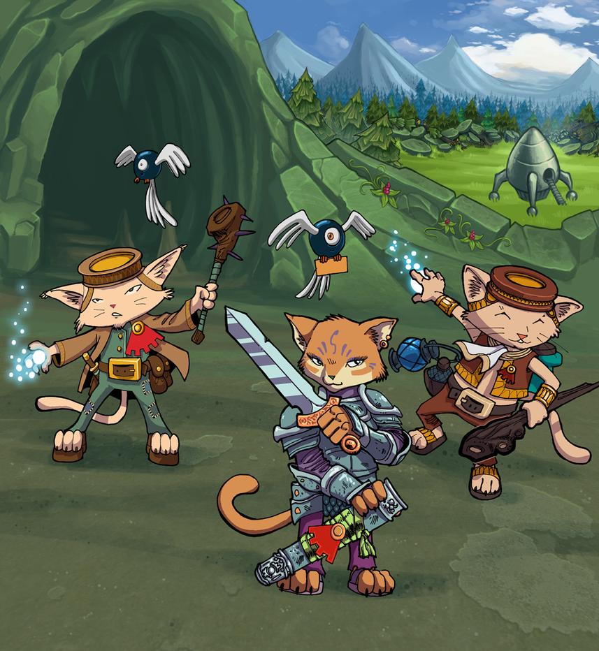 Felevu Dungeon Adventures! by Hyptosis