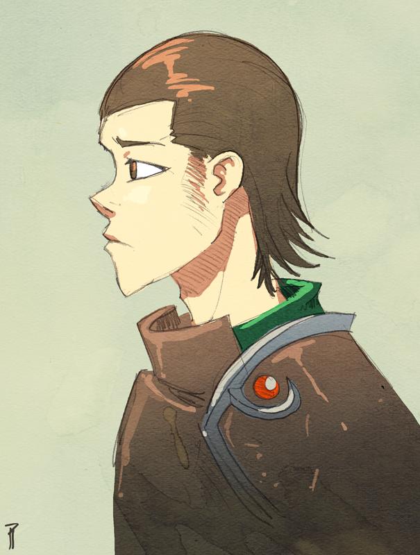 Random Warrior Guy by Hyptosis
