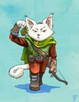 Feline Archer