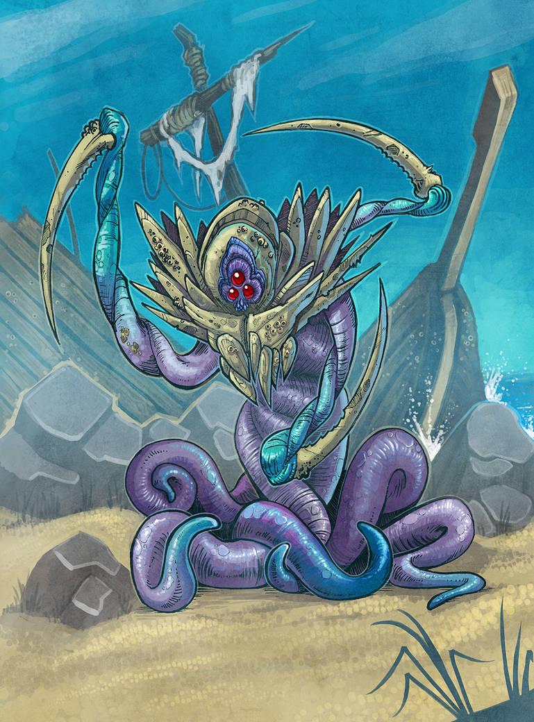 Sea Dervish by Hyptosis
