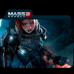 Mass Effect 3 Folder/Icon 2 by Lezya