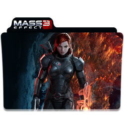 Mass Effect 3 Folder/Icon 3 by Lezya