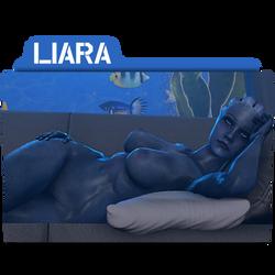Liara Folder/Icon for N7-CMDR by Lezya