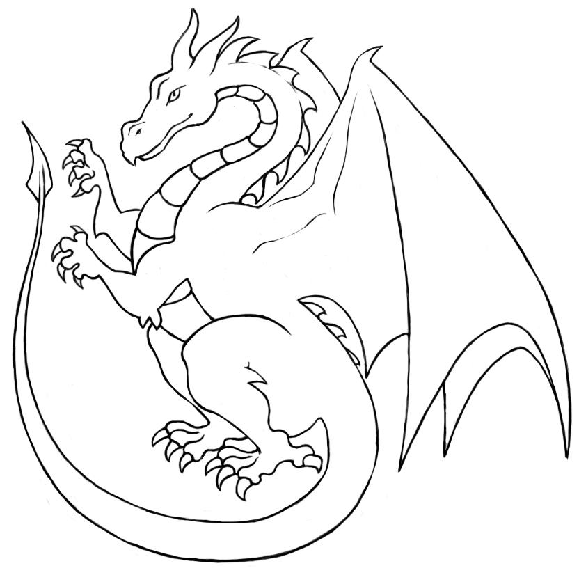Dragon Heraldry: Pseudo-Heraldic Dragon By Fiskmeshi On DeviantArt