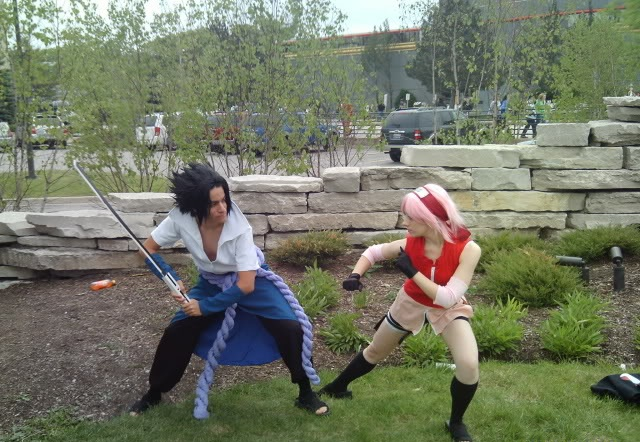 Cosplay sasuke vs sakura by kosanami on deviantart cosplay sasuke vs sakura by kosanami altavistaventures Gallery
